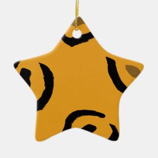 Leopard Love Christmas Ornament