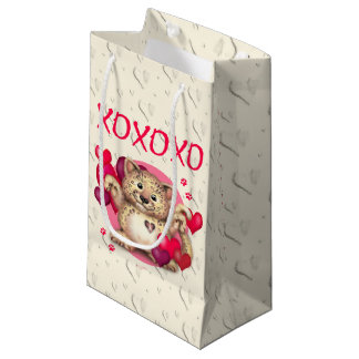 LEOPARD LOVE Gift Bag - SMALL GLOSSY 2