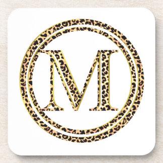 Leopard M Coaster