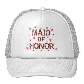 Leopard Maid of Honor Cap