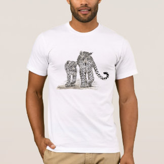 Leopard mom and cub T-Shirt