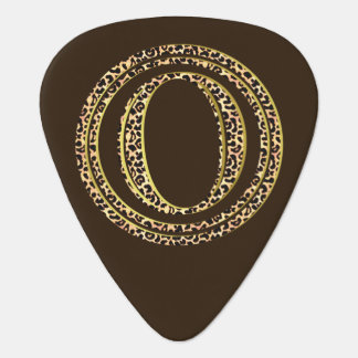 Leopard O Guitar Pick