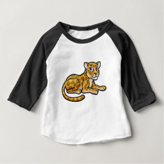 Leopard or Jaguar Cartoon Baby T-Shirt