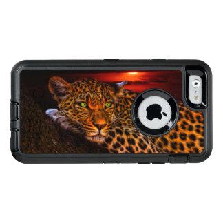 Leopard OtterBox Defender iPhone Case