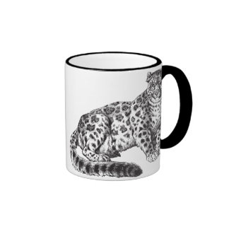 Leopard, Panther Cat Coffee Mug Wild Cat Art
