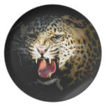 Leopard Party Plate