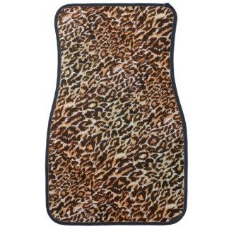 Leopard Pattern Animal Car Mats