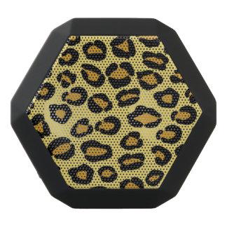Leopard Pattern Black Bluetooth Speaker