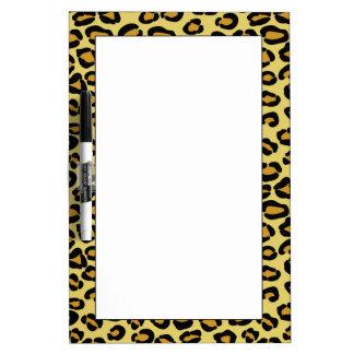 Leopard Pattern Dry Erase Board