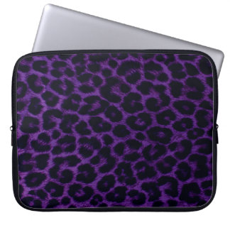 Leopard Pattern Laptop Sleeve