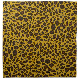 Leopard Pattern Napkin