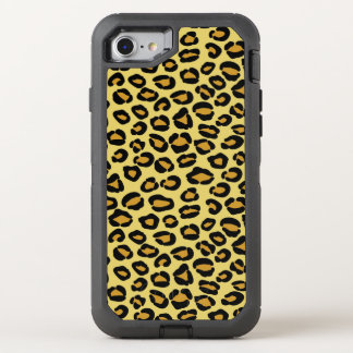 Leopard Pattern OtterBox Defender iPhone 8/7 Case