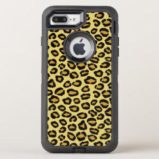 Leopard Pattern OtterBox Defender iPhone 8 Plus/7 Plus Case
