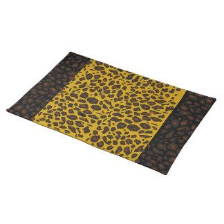 Leopard Pattern Placemat