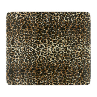Leopard Pattern Print Cutting Board