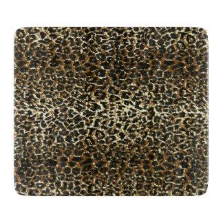Leopard Pattern Print Cutting Board