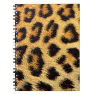 Leopard Pattern Print Design Notebook
