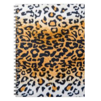Leopard Pattern Print Design Notebooks