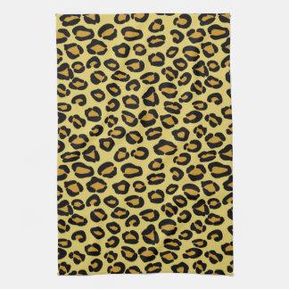 Leopard Pattern Tea Towel