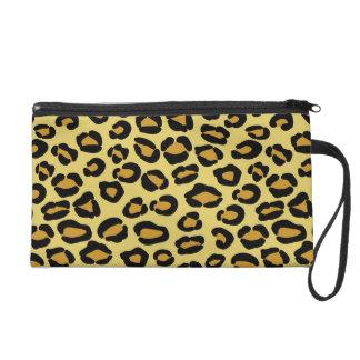 Leopard Pattern Wristlet Purses