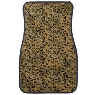 Leopard Pattern Car Mat