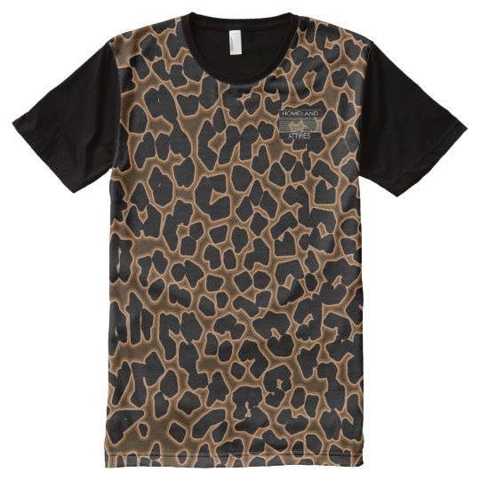 Leopard Patterned Homeland Attires T-Shirt