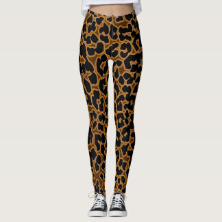 Leopard Patterned Sexy Tights Leggings