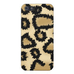 Leopard Pern, Brown and Black. iPhone 5 Cover