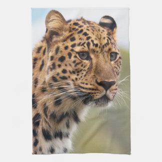 Leopard Photo Tea Towel