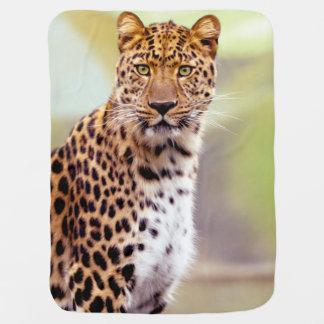 Leopard Photograph Baby Blanket