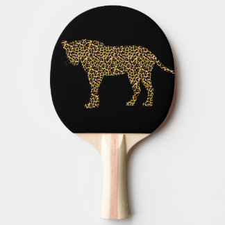 LEOPARD PING PONG PADDLE