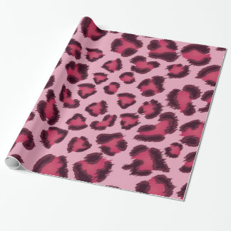 Leopard Pink Gift Wrap