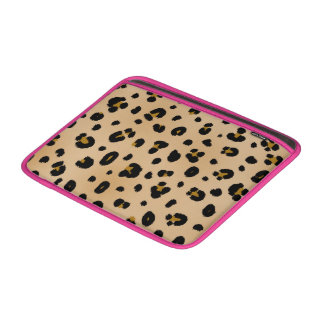 Leopard & Pink Macbook Air Sleeve