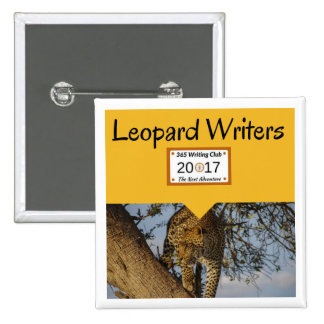 Leopard Pins! 15 Cm Square Badge