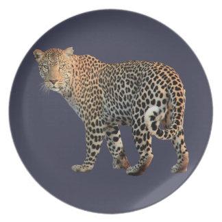 Leopard Plate