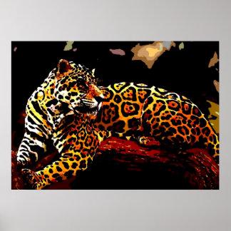 Leopard Poster Print - Pop Art Wild Animal Posters