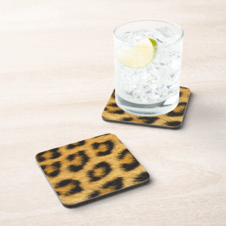 Leopard Print 1 Beverage Coasters