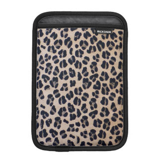 Leopard Print Abstract, iPad Mini Vertical Sleeve