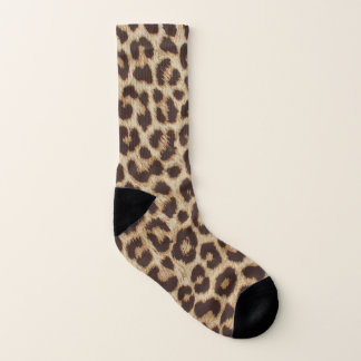 Leopard Print All-Over-Print Socks 1