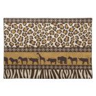 Leopard Print and African Animals Placemat