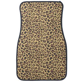 Leopard Print Animal Skin Pattern Car Mat
