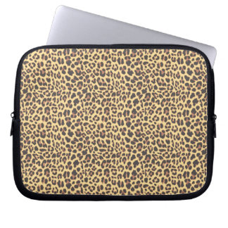 Leopard Print Animal Skin Pattern Laptop Sleeve