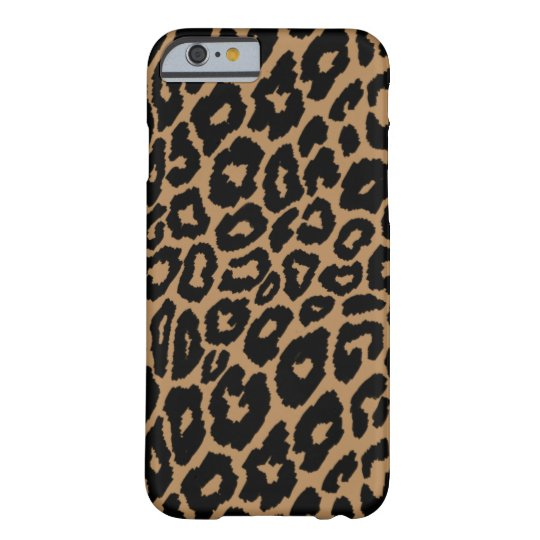 Leopard Print Background Changer Barely There iPhone 6