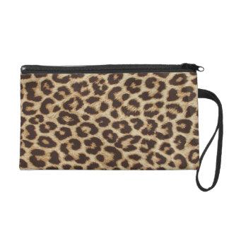 Leopard Print Bag Wristlet Purses