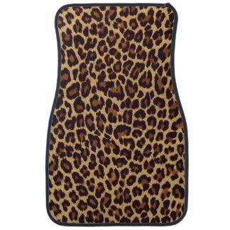 Leopard Print Floor Mat