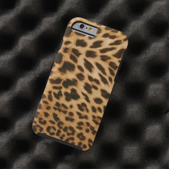 Leopard Print Case-Mate Tough iPhone 6 Case