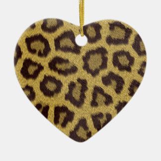 Leopard Print Christmas Ornament