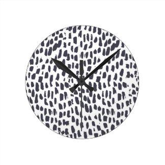Leopard Print Clock