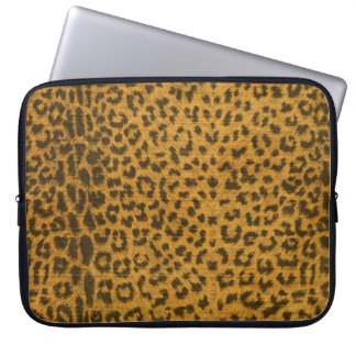 Leopard Print Electronics Sleeve Laptop Computer Sleeve