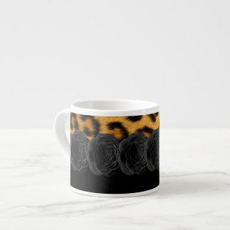 Leopard Print Espresso Mug
